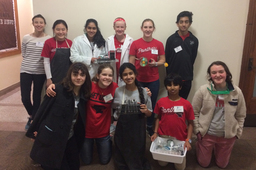 Middle School Science Olympiad Qualifies for State