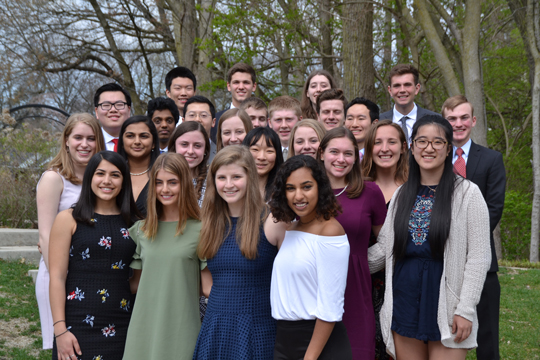 Park Tudor Students Inducted into Cum Laude Society